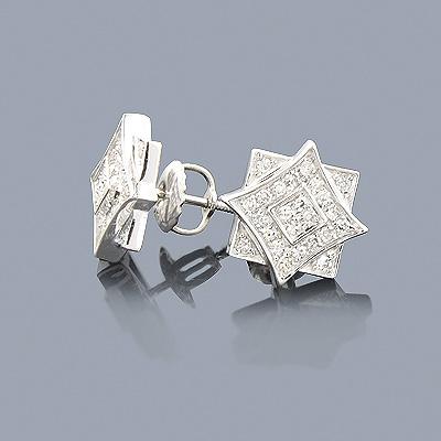 Diamond Earrings for Men and Women 0.29ct 14K