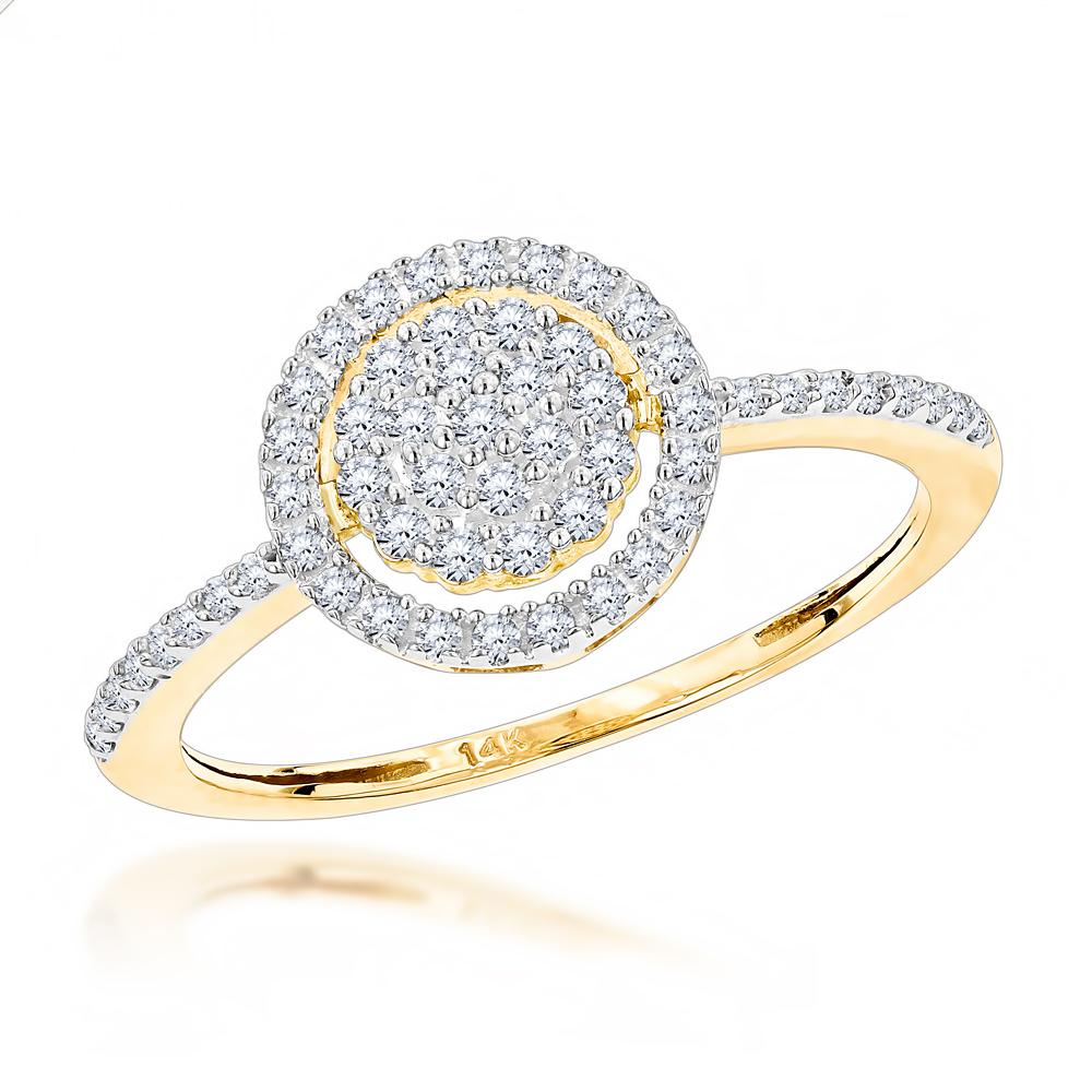 Diamond Promise Ring 0.25ct 14K Gold