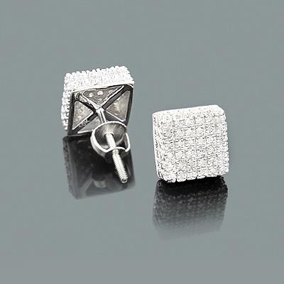Diamond Stud Earrings Under 300 - 10K Gold Studs 0.29ct