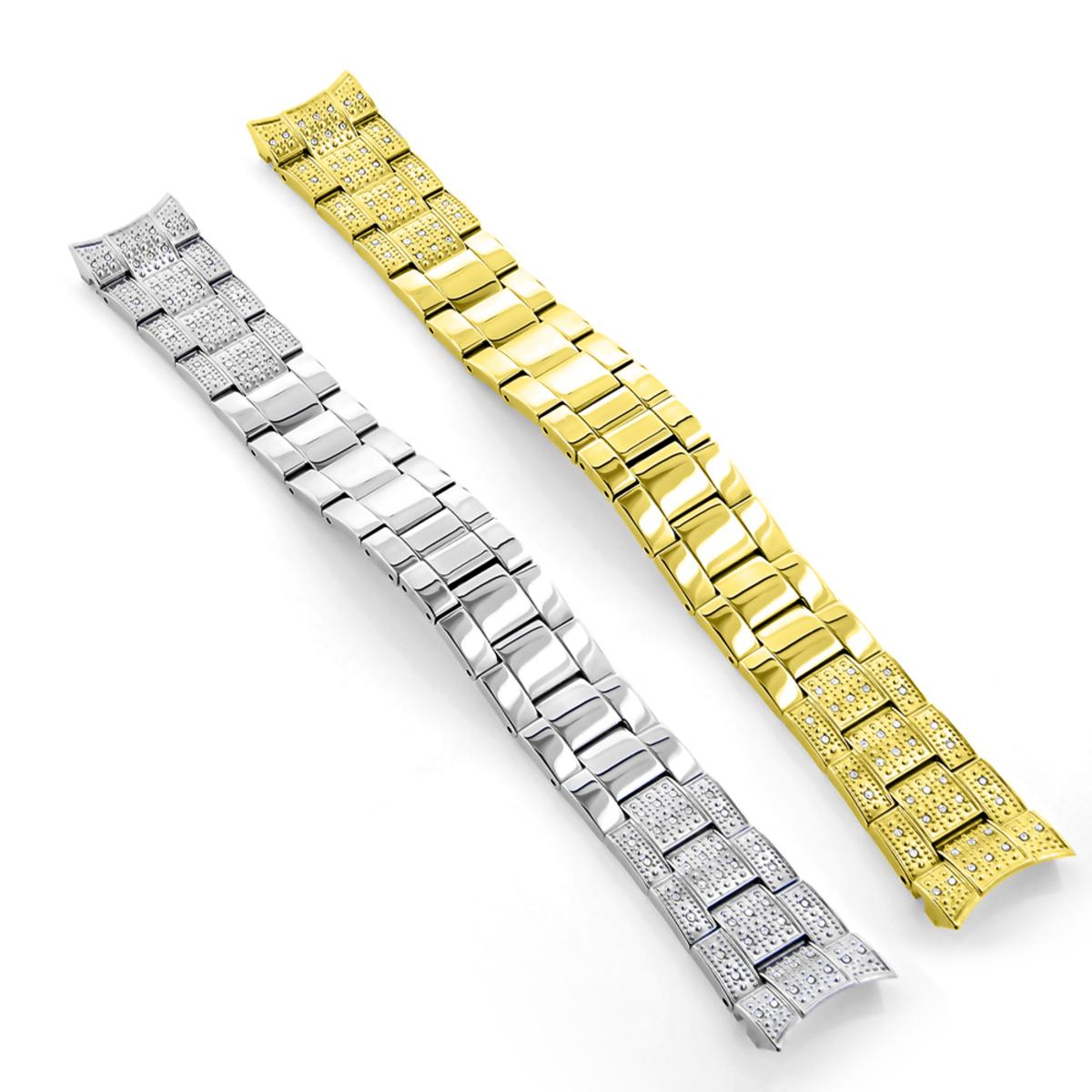 Diamond Watch Band for Luxurman Liberty 0.75ct Watch Accessory