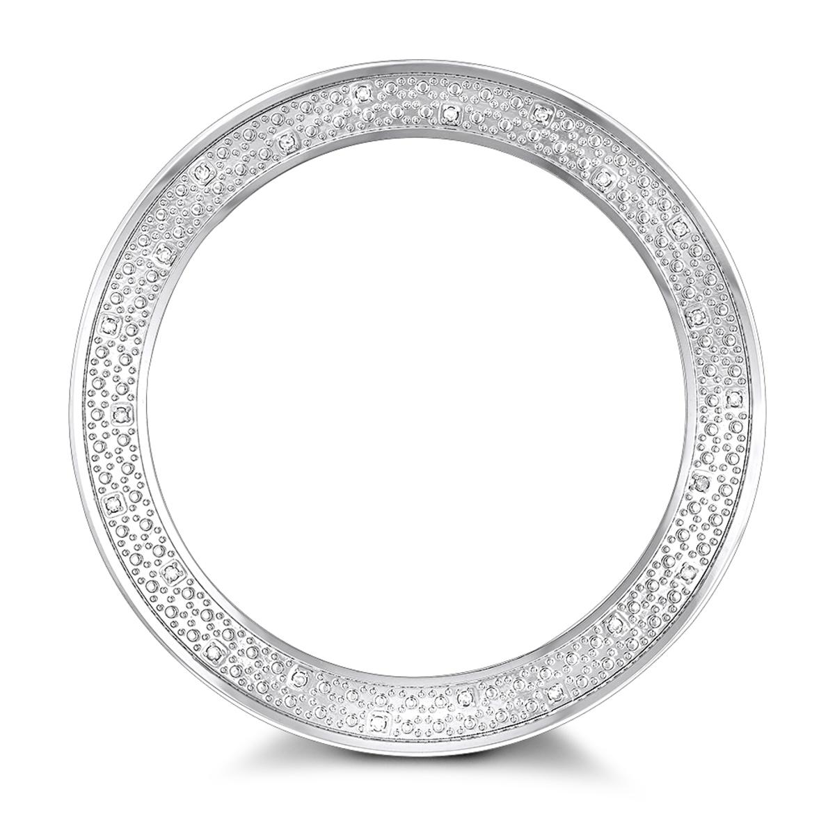 Diamond Watch Bezel for Men's Luxurman Escalade Watch 0.25ct