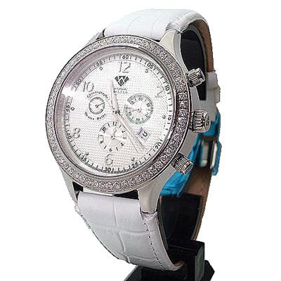 Discount Aqua Master Watches Mens Diamond Watch 2.45ct