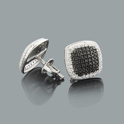 Discount Diamond Earrings 0.22ct Sterling Silver