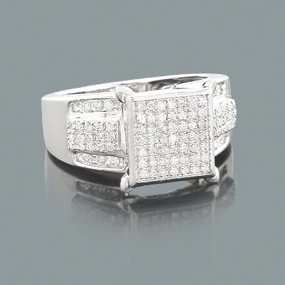 Engagement Rings for Cheap: Ladies Diamond Ring 0.40ct 10K