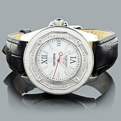 Genuine Diamond Watch by Centorum Falcon 0.50ct