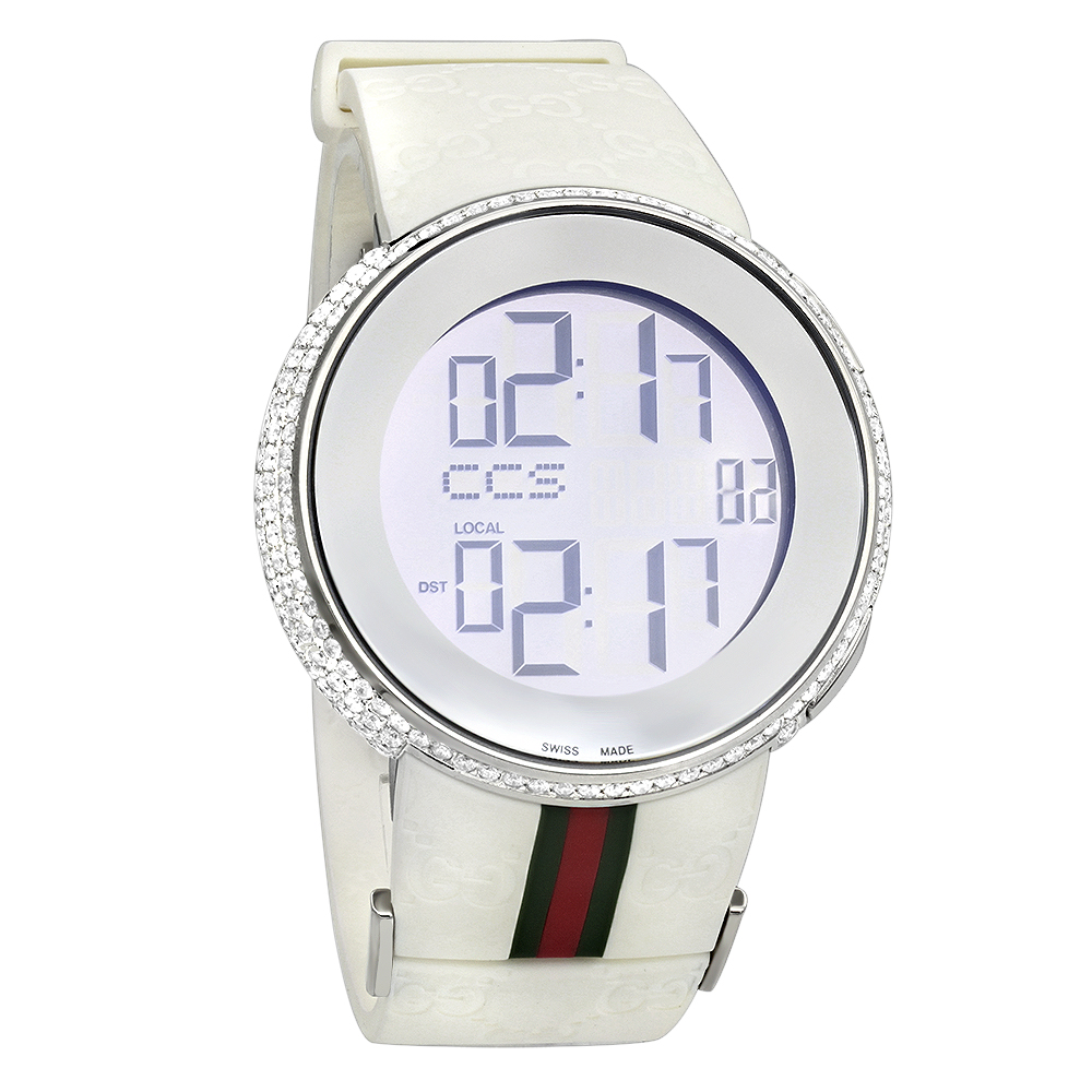 Gucci Diamond Watches Mens Luxury Watch 6ct