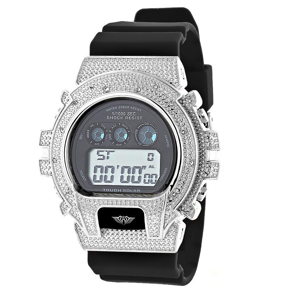 Ice Plus Diamond Watch by Joe Rodeo 0.12ct