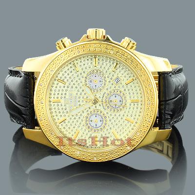 Ice Time Mens Diamond Watch 0.20ct
