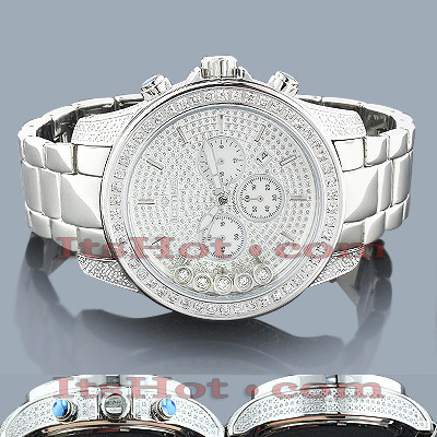 ICE TIME Mens Diamond Watch 2.50ct