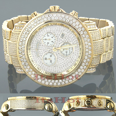 Iced Out Watches Joe Rodeo Junior Diamond Watch 19.5ct