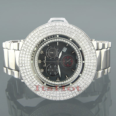 Hip Hop Watches Oversized Joe Rodeo Razor Diamond Bezel Watch for Men 10.4c