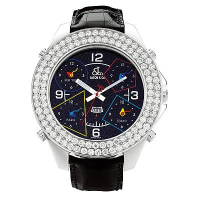 Jacob & Co. Jumbo Size Diamond Watch