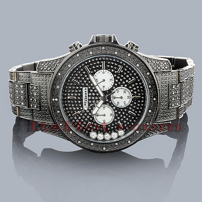 Jojino Mens Diamond Watch with Moving Stones 1.05ct