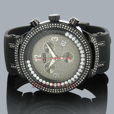 JoJo Joe Rodeo Master Diamond Watch 2.20ct Black