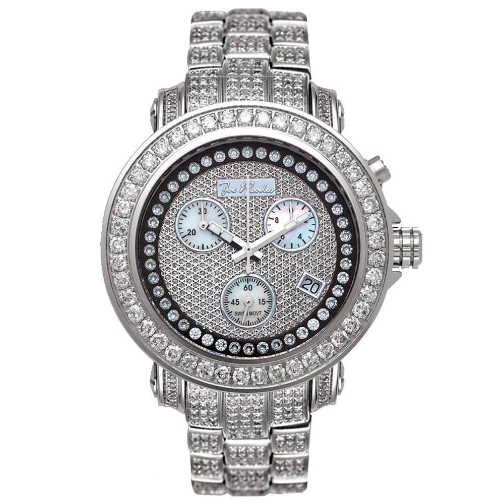 JoJo Rio Womens Diamond Watch 9.50ct Diamond Band