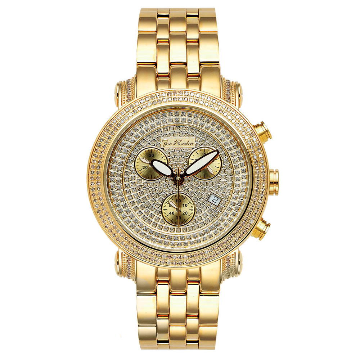 JoJo Watch: Diamond Joe Rodeo Watch 1.75ct Yellow Gold Classic