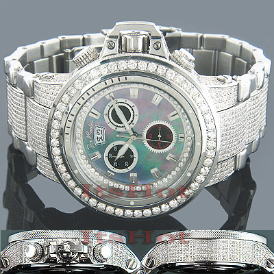 JoJo Watches Joe Rodeo Razor Mens Diamond Watch 22ct