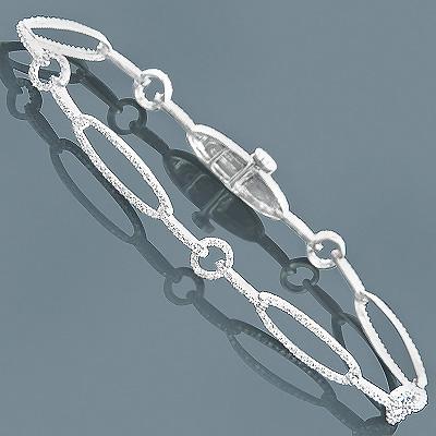 Ladies Diamond Bracelet 1.28ct