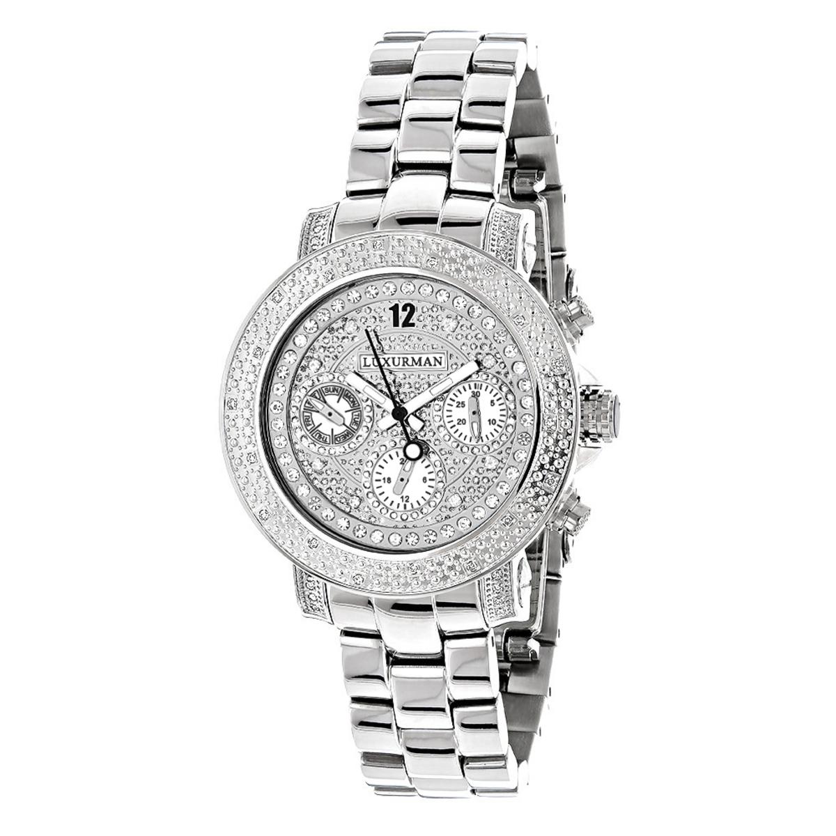 Luxurman Ladies Diamond Watch 0.30ct