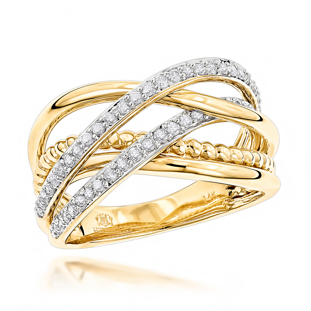 unique womens wedding rings luxurman right rings unique womens ring 14k 8199