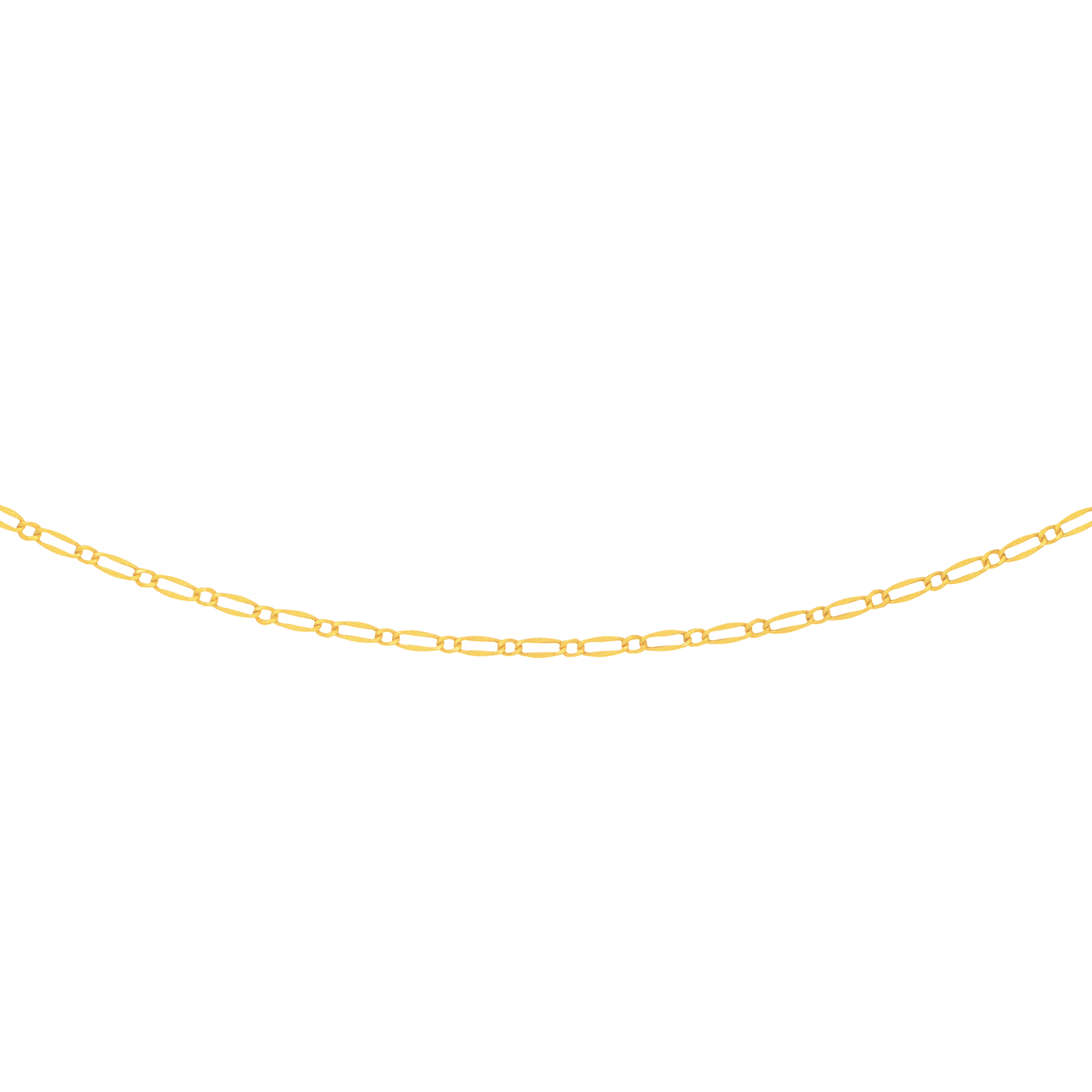 LUXURMAN Solid 14k Gold Rolo Chain For Women Polished Link 3.5mm Wide