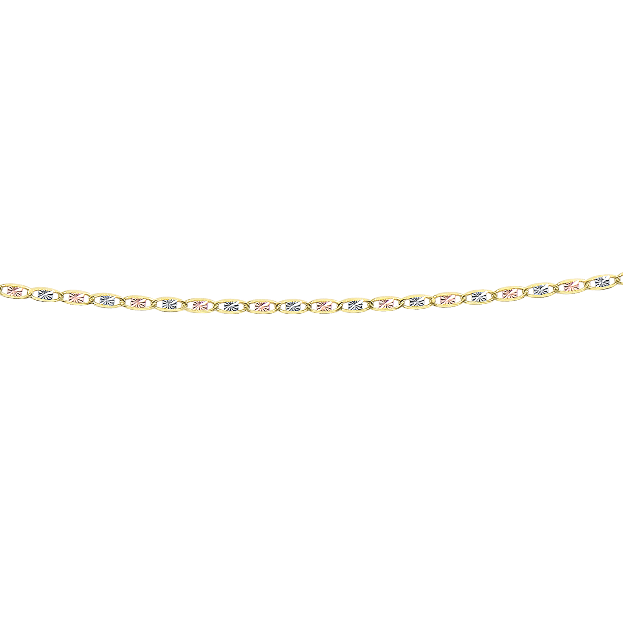 LUXURMAN Solid 14k Gold Valentino Chain For Women 2mm Wide