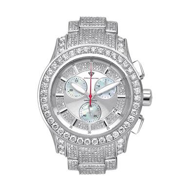 Luxury Diamond Watches Mens Aqua Master Watch 13ct