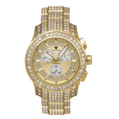 Luxury Diamond Watches Mens Aqua Master Watch 32ct