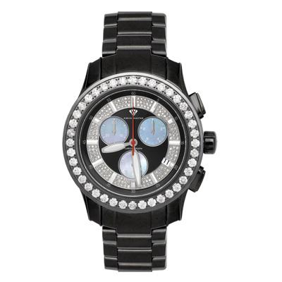 Luxury Diamond Watches Mens Aqua Master Watch 8.00ct