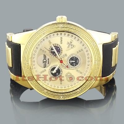 Mens Diamond Sport Watch by Tdiezel 0.12ct