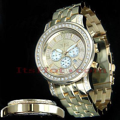 Mens Diamond Watch 3.00ct Joe Rodeo Watch JoJo 2000