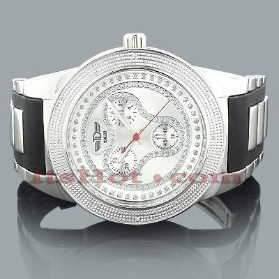 Mens Diamond Watch by Techno Diezel 0.12ct