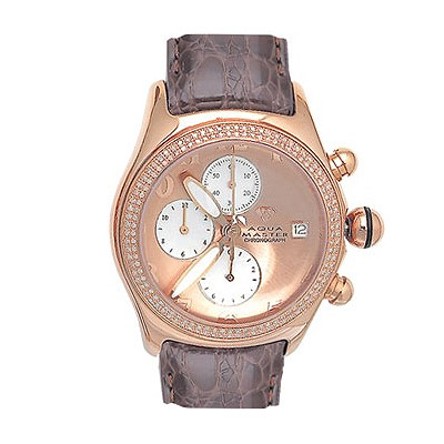 Mens Diamond Watches Aqua Master Bubble Watch 1.50ct