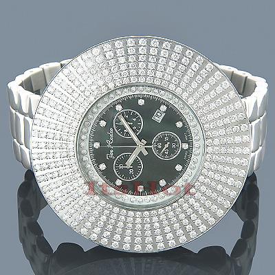 Mens Diamond Hip Hop Watches Joe Rodeo Oversized Watch 13.9