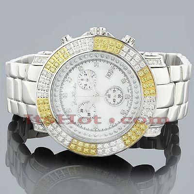 Mens Joe Rodeo Junior Diamond Watch 4.75ct