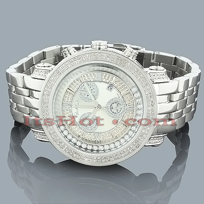 Mens JoJo Joe Rodeo Floating Diamond Watch 2.00ct
