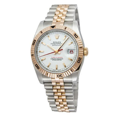 Mens ROLEX Oyster Two-Tone Perpetual Datejust Watch