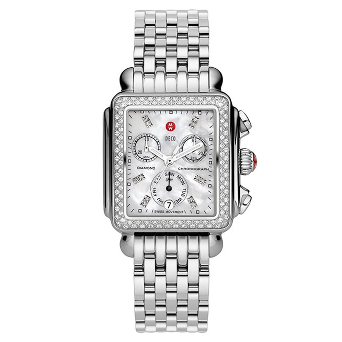 Michele Deco Day Diamond Ladies Watch MWW06P000099