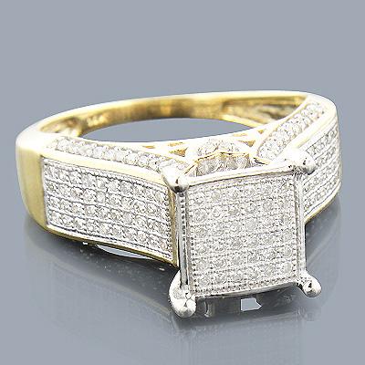 Pre-Set Diamond Engagement Ring 0.69ct 14K