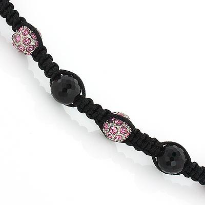 Purple Disco Ball Necklace Style Jewelry Piece