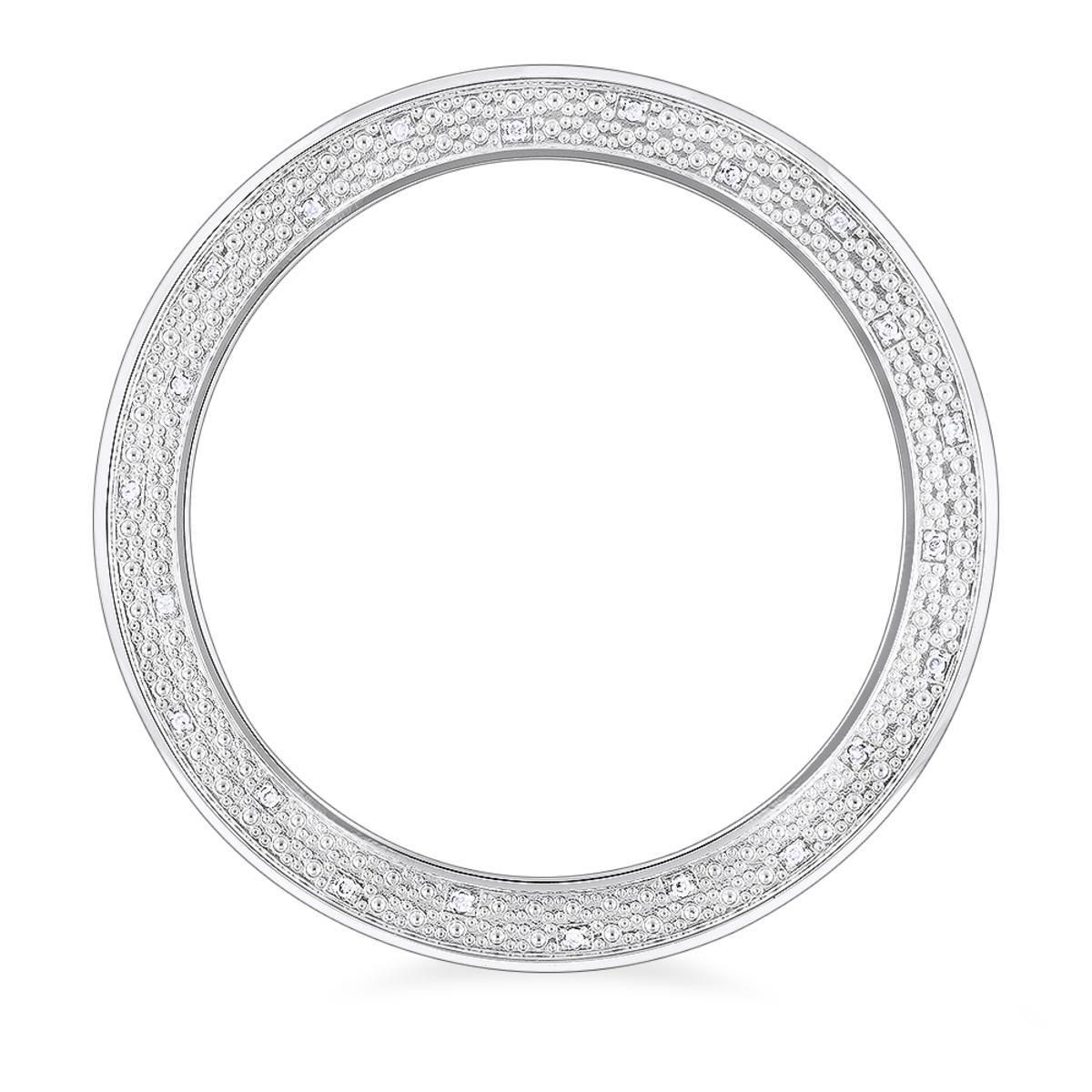 Replacement Diamond Watch Bezel for Men's Luxurman Raptor 0.25ct
