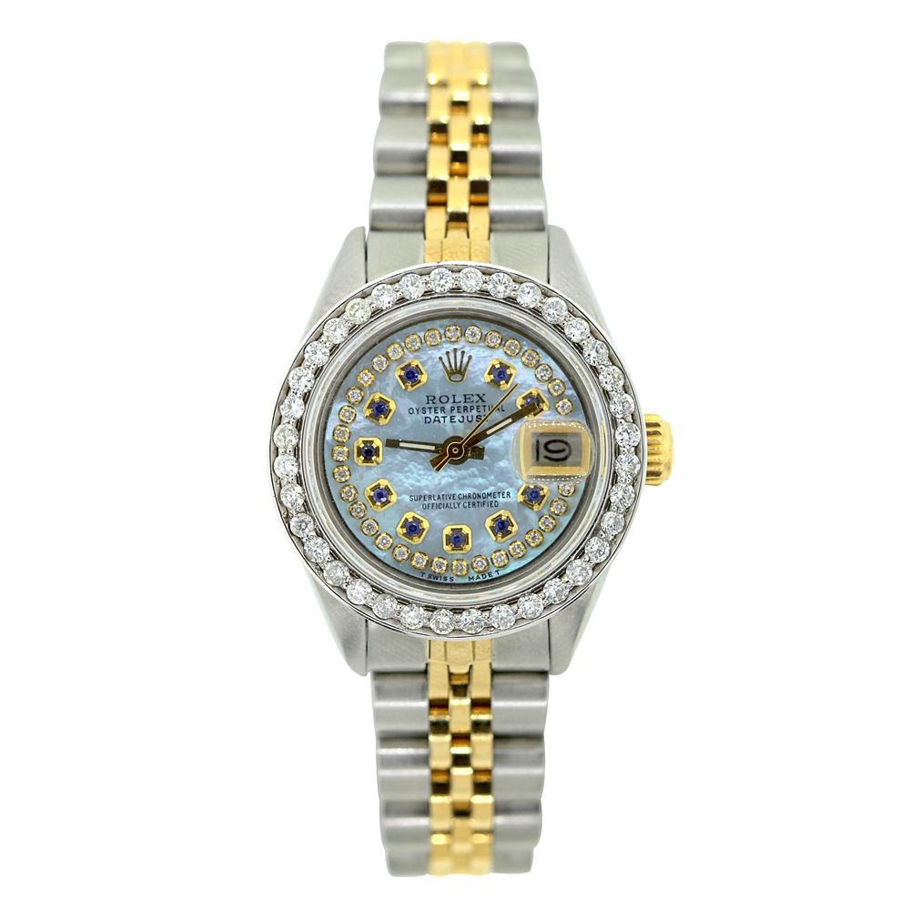 Rolex Datejust Ladies Diamond Watch 1.5 ct