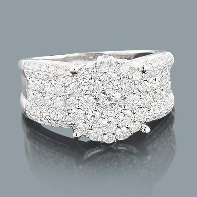 Round Diamond Engagement Ring 1.69ct 14K