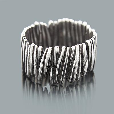 Sterling Silver Rings: Handmade Designer Jewelry Piece