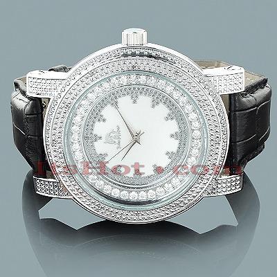 Techno Master Mens Diamond Watch .12ct