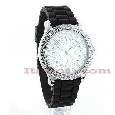 Techno Master Watches Ladies Diamond Watch 0.12ct