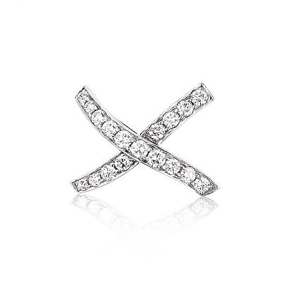 Tiffany & Co Jewelry: Tiffany & Co  Platinum Diamond Brooch 1.90ct