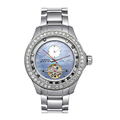 Tourbillion Watches Aqua Master Diamond Watch 5.75