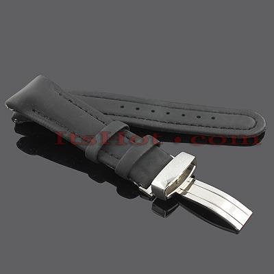 Watch Bands: Joe Rodeo Polyurethane Watch Band 22mm Black