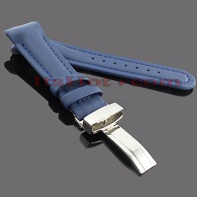 Watch Bands: Joe Rodeo Polyurethane Watch Band 22mm Blue